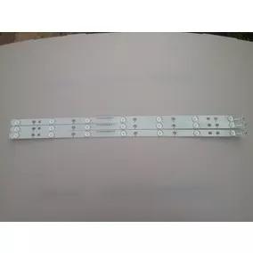 Kit 3 Barras Led Aoc Le32h1461 Le32d1352 32phg4900 32phg5101