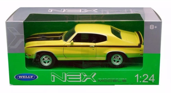 Auto De Colección Metal 1970 Buick Gsx 1:24 Welly