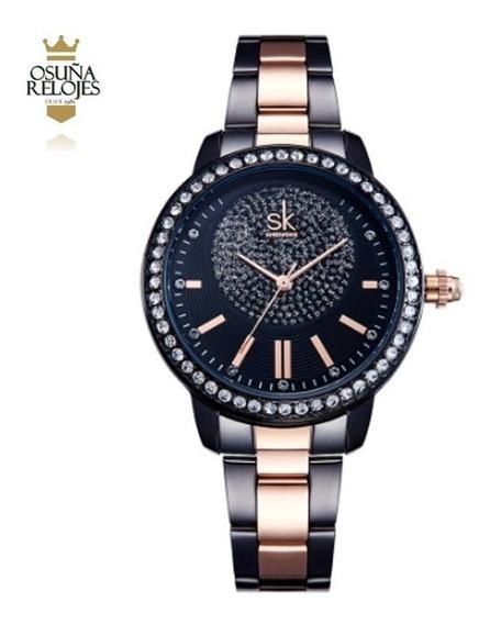 Relógio Feminino De Luxo Barato Garantia Original Elegante