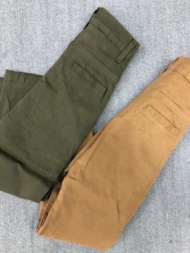 Pantalon Gabardina Chino Para Ninos Colores Bh Nelifeindumentaria