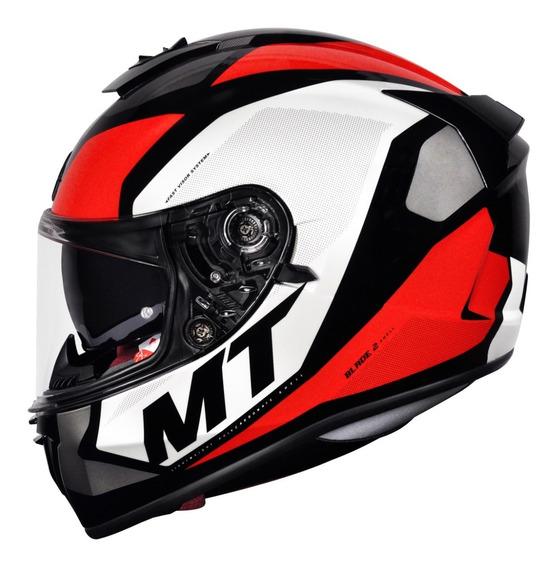 Capacete Mt Blade 2 Sv Trick Viseira Solar Capacete Moto