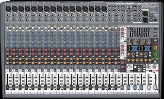 Mezcladora De 24 Canales 99 Efectos, Behringer Sx2442fx