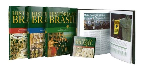 Coleção História Do Brasil Barsa - 4 Livros + Cd Interativo