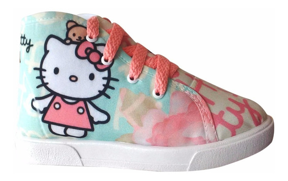 Tenis Bota De Hello Kitty