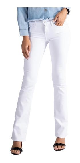 Calça Jeans Levis 715 Bootcut Feminino Branco