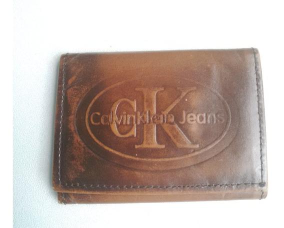 Cartera Billetera Calvin Klein Jeans Para Caballero