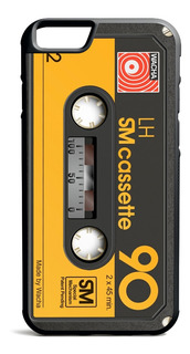 Funda Case iPhone 6 7 8 X Plus - Cassette Retro Basf