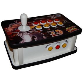 Controle Arcade Fliperama Pc/play3/play4/rasp