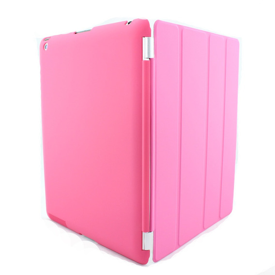 5 Kit Com Smart Cover iPad 2 3 4 + Traseira Case Protetora