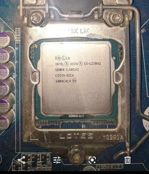 Processador Intel Xeon E3-1270 V2 Lga 1155 3.5ghz 8 Mb Cache