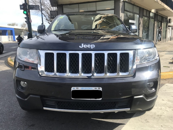 Jeep Grand Cherokee Overland At 3.6l Año 2012 As Automobili