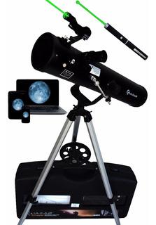 Telescopio Quasar Q76 Cámara Usb Láser Verde 525x