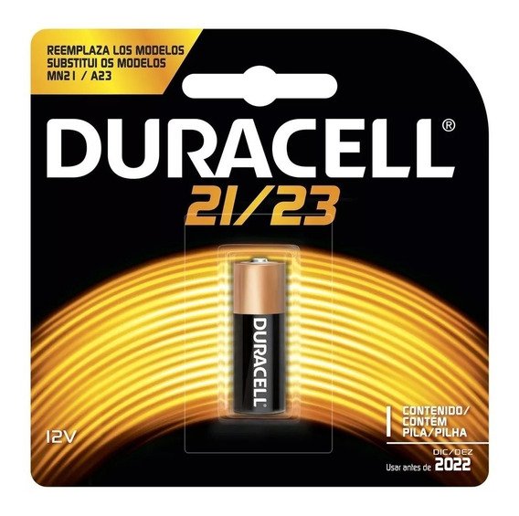 6 Pilhas Baterias Alcalinas Duracell Mn 21 A23 12v