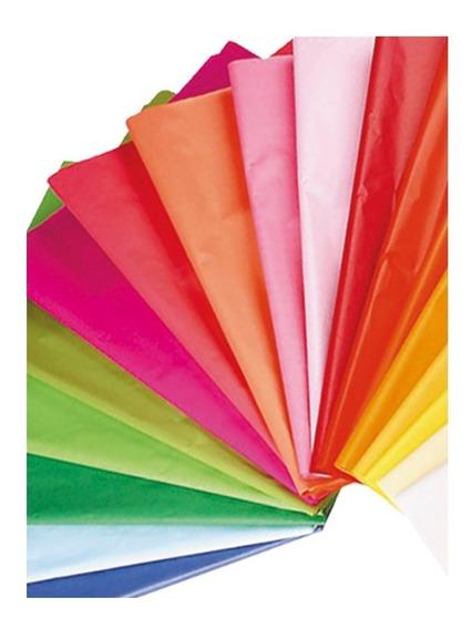 Papel De Seda Colores Surtidos Pack De 20 Und