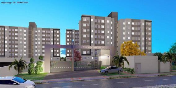 Apartamento Para Venda Em Cuiabá, Morada Do Ouro, 2 Dormitórios, 1 Banheiro, 1 Vaga - 517_1-1437926