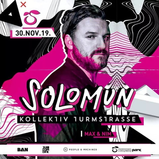 Entrada Solomun - Mandarine Park 30/11 - Ticketspass