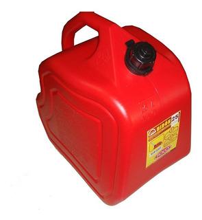 Bidon Para Combustible Foco 25 Lts Homologado C/pico Mm