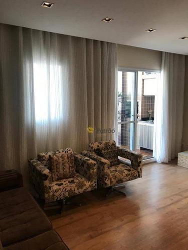 Imagem 1 de 23 de Apartamento À Venda, 106 M² Por R$ 720.000,00 - Centro - São Bernardo Do Campo/sp - Ap2432