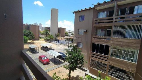 Imagem 1 de 13 de Apartamento Com 2 Dormitórios Para Alugar, 58 M² - Nova Parnamirim - Parnamirim/rn -  Ap0214 - Ap0214