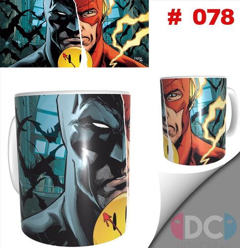 Taza Comics Coleccionables Batman Flash Watchmen #078
