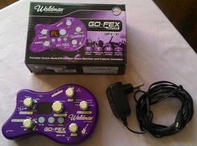 Waldman Gfx-10 Pedaleira Multi-efeitos Guitarra Usado