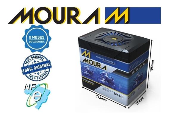 Bateria Moto Moura Ma5-d Titan150 / Bros150 / Xre 300