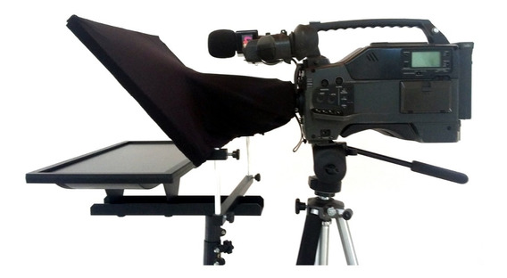 Teleprompter Profissional Led Lcd Muito Barato