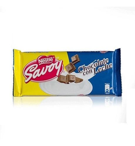 Chocolate Savoy Grande 130 Gr  Producto Venezolano