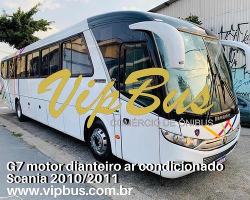 G7 Motor Dianteiro Scania 2010/2011 Financia 100% Vipbus