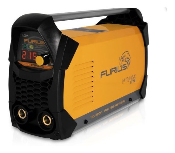 Soldadora Inversora 110-220v Furius Fire 215
