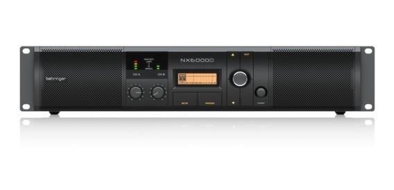 Nx6000d Amplificador Potencia Behringer Nx6000 Dsp