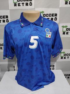 Camisa Italia Copa Do Mundo 1994 E Euro 96 Maldini