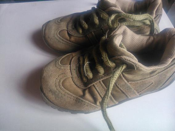 Zapatillas Cheeky Talle 23 Verde Oscuro