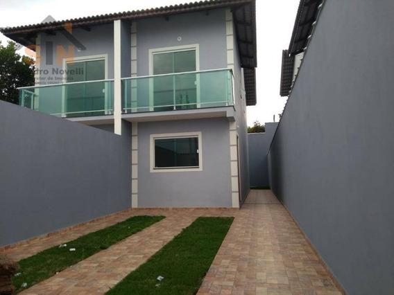 Sobrado Com 2 Dormitórios À Venda, 72 M² Por R$ 260.000,00 - Parque Residencial Scaffid Ii - Itaquaquecetuba/sp - So0096