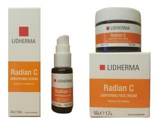 Lidherma Kit Radian C Serum + Crema Facial Hialuronico Belgr
