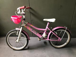 Bicicleta Musetta Nena Rodado 16 - Buen Estado!