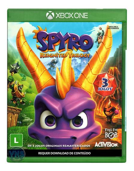 Spyro Reignited Trilogy - Xbox One - Mídia Física - Lacrado