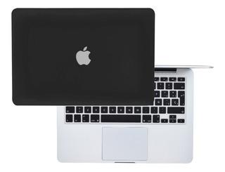 Carcasa Case Macbook + Protector De Teclado Español Pro Air