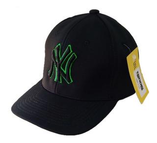 Gorra Beisbol Profesional Ny Yankees Cerrada Elastizada