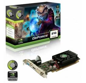 Placa De Vídeo Para Pc Geforce Gt210 1gb Ddr3 Nvidia Oferta