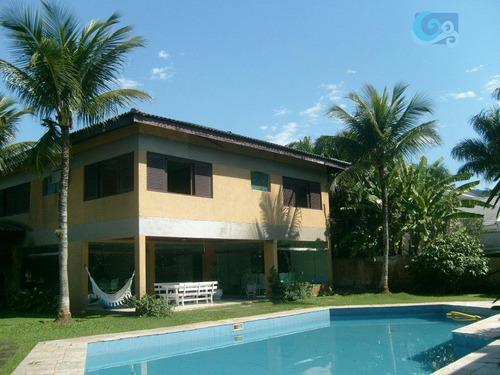 Imagem 1 de 19 de Casa À Venda, Condomínio Jardim Acapulco - Guarujá - Ca0695
