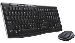 Teclado + Mouse Inalambricos Logitech Mk270 Garantia Oficial