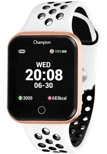 Relógio Champion Smartwatch Prata E Branco Ch50006w