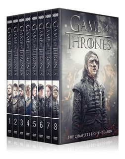 Game Of Thrones Temporada 1 2 3 4 5 6 7 8dvd Juego De Tronos