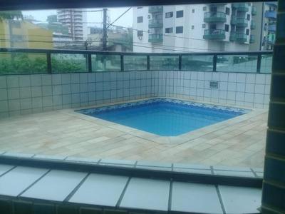 Apartamento Para Locação Definitiva Próximo À Praia 1 Dormitório, Bairro Ocian Em Praia Grande. - Ap2628
