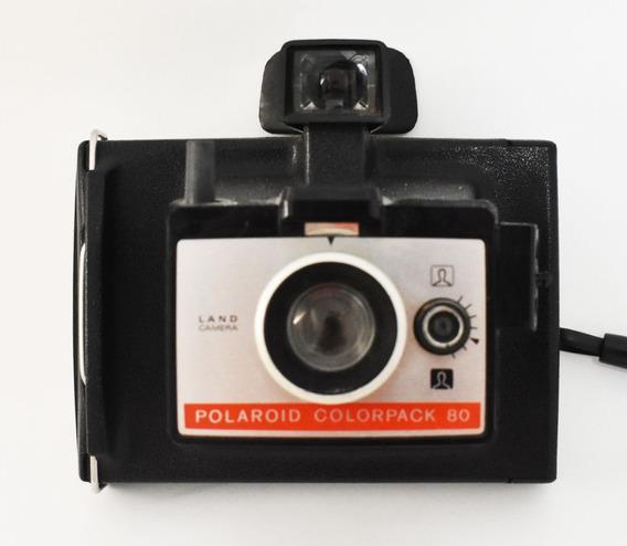 Polaroid Câmera Lupa Pro E Land Colorpack 80 Flash Frata
