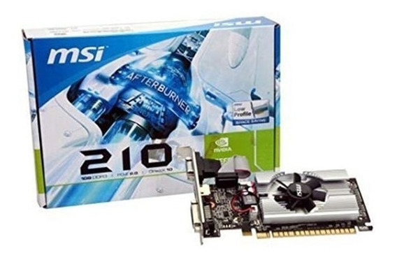 Placa Msi N210 1gb Ddr3 Lp Hdmi