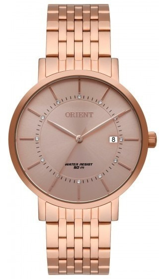 Relógio Orient Frss1041 R1rx Feminino Dour Rosê - Refinado
