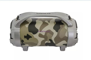 Parlante Bluetooth Portatil Luces Bazooka Karaoke Winco W215
