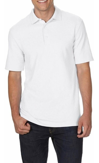 Camiseta Polo Tallas Extra Blanco 2xl 3xl 4xl 5xl Original